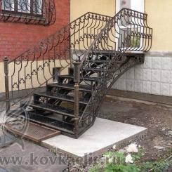 Кованые перила Эконом КПЭ_21