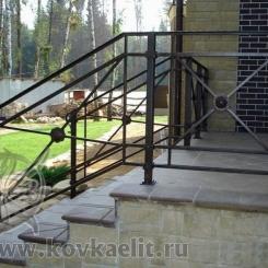 Кованые перила Эконом КПЭ_35