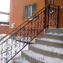 Кованые перила Эконом КПЭ_43