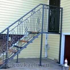 Кованые перила Эконом КПЭ_71