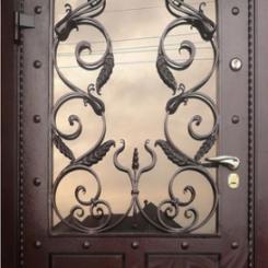 Кованая дверь КД_4