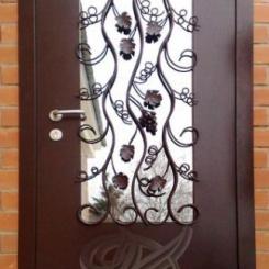 Кованая дверь КД_5