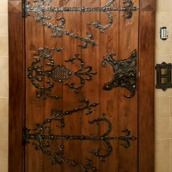 Кованые накладки на двери КН_2