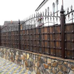Кованый забор КЗ_32
