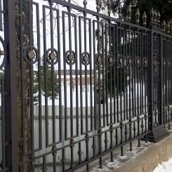 Кованый забор КЗ_15