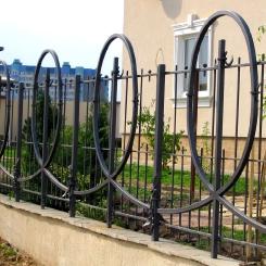 Кованый забор КЗ_33
