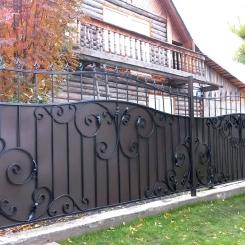 Кованый забор КЗ_39