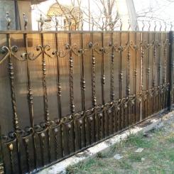 Кованый забор КЗ_41