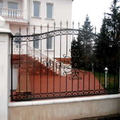 Кованый забор КЗ_69