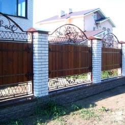 Кованый забор КЗ_23