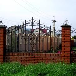 Кованый забор КЗ_78