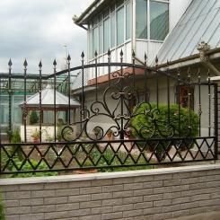 Кованый забор КЗ_84