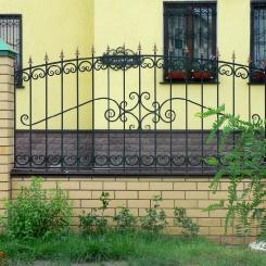 Кованый забор КЗ_91