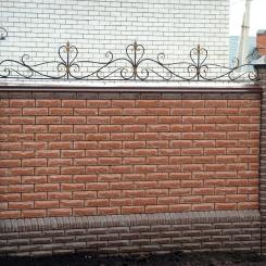 Кованый забор КЗ_110