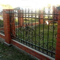 Кованый забор КЗ_27