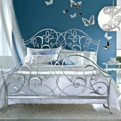 Кованая кровать двуспальная КК_1