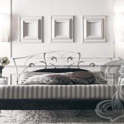 Кованая кровать лилия КК_22