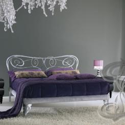 Кровать с кованой спинкой КК_27