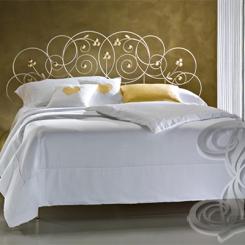 Кованая кровать в стиле прованс КК_37