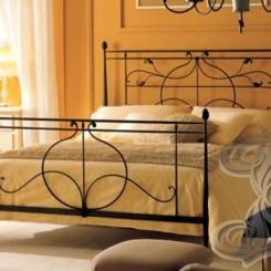 Кованая кровать двуспальная КК_38