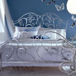 Кованая кровать КК_46