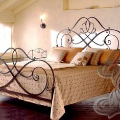 Кованая кровать КК_50