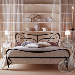 Кованая кровать КК_69