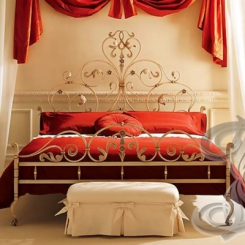 Кованая кровать КК_76