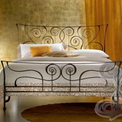 Кованая кровать КК_77