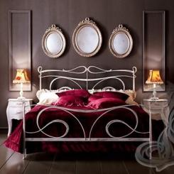 Кованая кровать КК_87