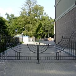 Кованые ворота КВ_12