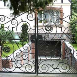 Кованые ворота КВ_14
