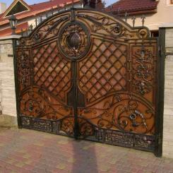Кованые ворота КВ_28