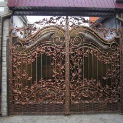 Кованые ворота КВ_31