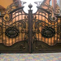Кованые ворота КВ_32