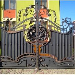 Кованые ворота КВ_33