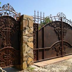 Кованые ворота КВ_18