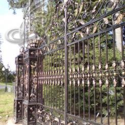 Кованые ворота КВ_2