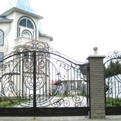 Кованые ворота КВ_15