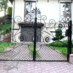 Кованые ворота КВ_16