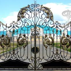 Кованые ворота КВ_1