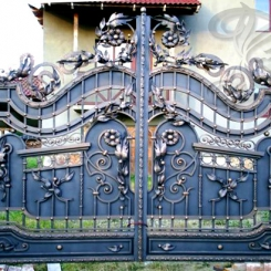 Кованые ворота КВ_9