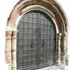 Кованые ворота КВ_6