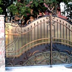 Кованые ворота КВ_3