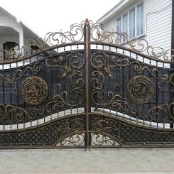 Кованые ворота КВ_36