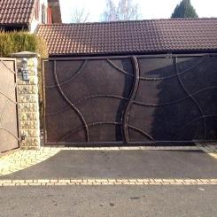 Кованые ворота КВ_39