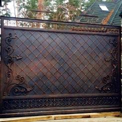 Кованые ворота КВ_40