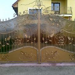 Кованые ворота КВ_46