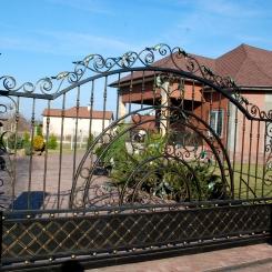 Кованые ворота КВ_50