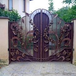 Кованые ворота КВ_51